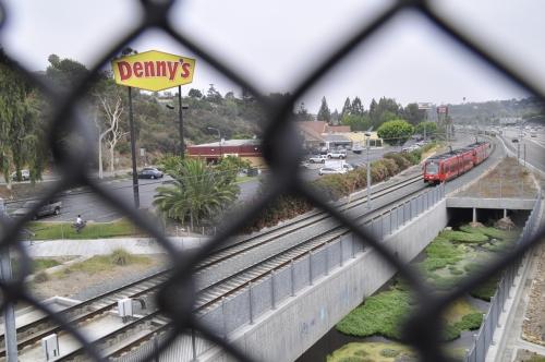 Under the tracks along Alvarado Medical complex