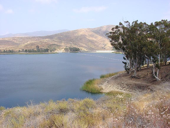 Top 10 lakes for fishing in san diego county for Otay lakes fishing