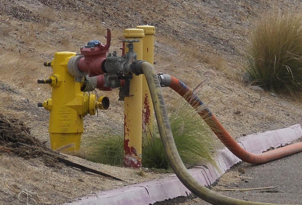 Hydrant hookup