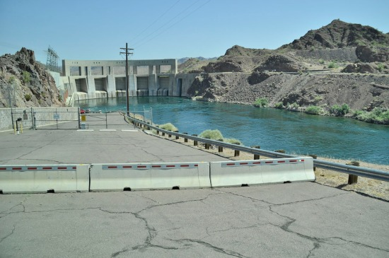 Holding back Lake Havasu, Parker Dam is the deepest dam in the world, with 73% of its structural height of 320 feet below the original riverbed because that's where the bedrock begins. The dam houses four hydroelectric generators.