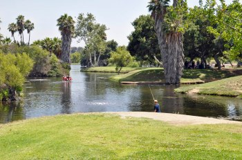 Padre Dam's recycled water creates Santee Lakes.