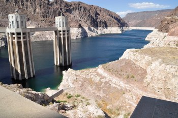 As of the end of July, Lake Mead is at 47% of capacity (click images to enlarge).
