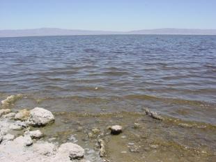 The Salton Sea is slowly evaporating.