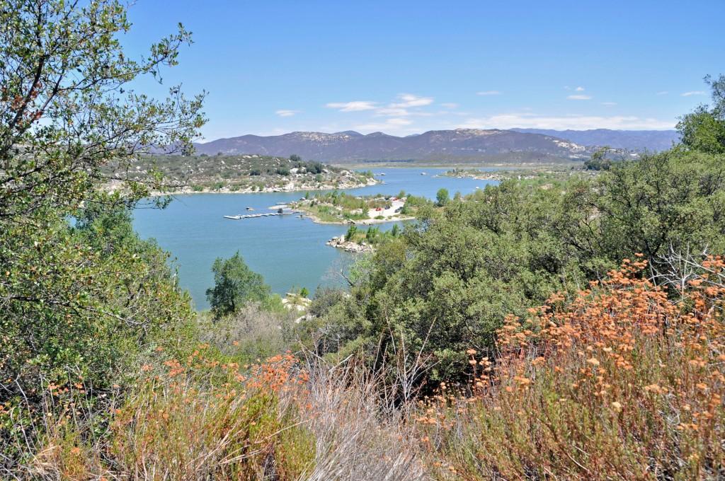 Morena Reservoir.