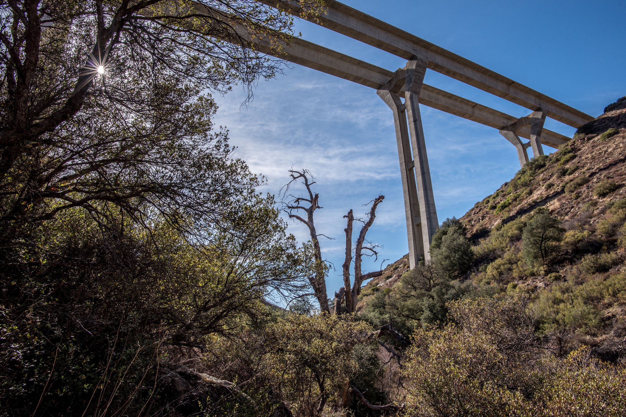 Viewing the Pine Valley Creek Bridge from the Secret ...